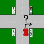 Ceļu satiksmes noteikumu uzdevums, jeb izdzisušais luksofors.