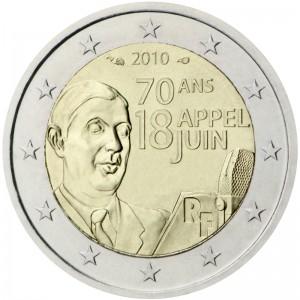 2eiro piemiņas monēta