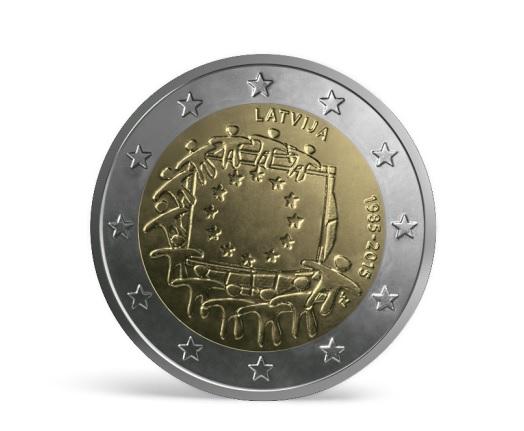 monēta ES karogs