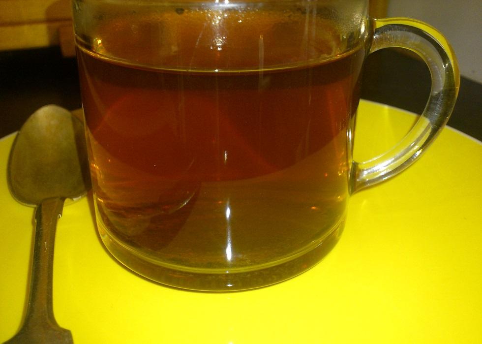 ugunspuķu tēja