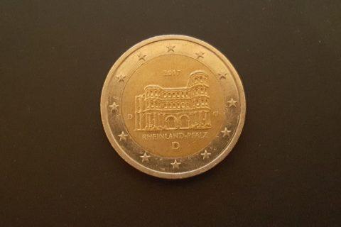 """Kolekcijas papildināšana- Vācijas 2 eiro piemiņas monēta """"Reinzeme-Pfalca""""."""