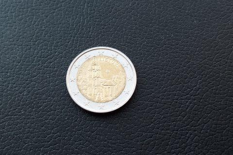 """Kolekcijas papildināšana- Lietuvas 2 eiro piemiņas monēta """"Viļņa""""."""