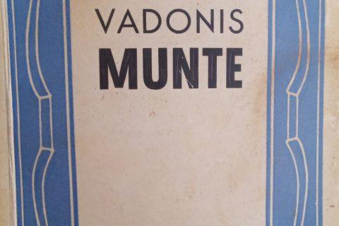 Grāmata- Vadonis Munte.